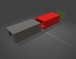smartphone projector 3D print model