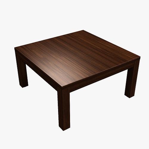 Japanese Kotatsu Table 3d Model Max Obj Mtl Fbx C4d Lwo Lw Lws Ma Mb