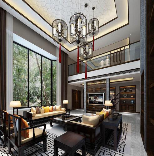3d model luxury realistic living room design cgtrader for Realistic living room ideas