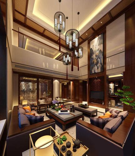 3d model realistic living room design suite cgtrader for Realistic living room ideas