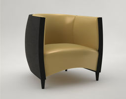 pro - armchair africa alexandra design studio 3d