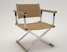 3D model Pro - Directors chair Linley
