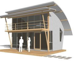 HOME at WEEKEND shack 3D model