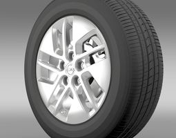 3D model Opel Vivaro wheel 2015