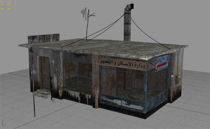 free arab city building building a 3d asset cgtrader
