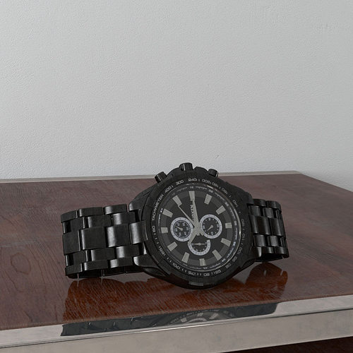 watch 33 am156 3d model max obj mtl fbx c4d 1