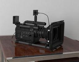 camera 29 am156 3d model obj