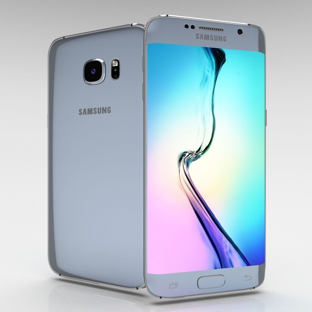 3d Model Samsung Galaxy S6 Edge Plus Cgtrader Note 32gb