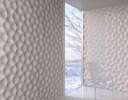 3D model wall panel 013 AM147