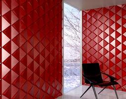 wall panel 027 am147 3d