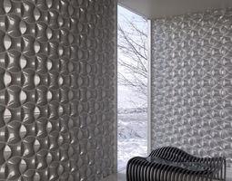 wall panel 043 am147 3d