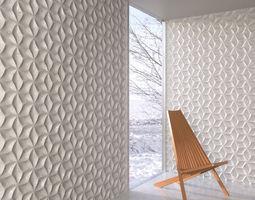 wall panel 046 AM147 3D model
