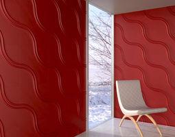 3d model wall panel 080 am147