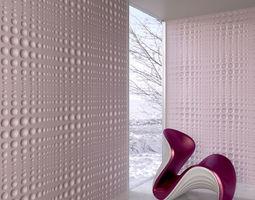 wall panel 097 AM147 3D