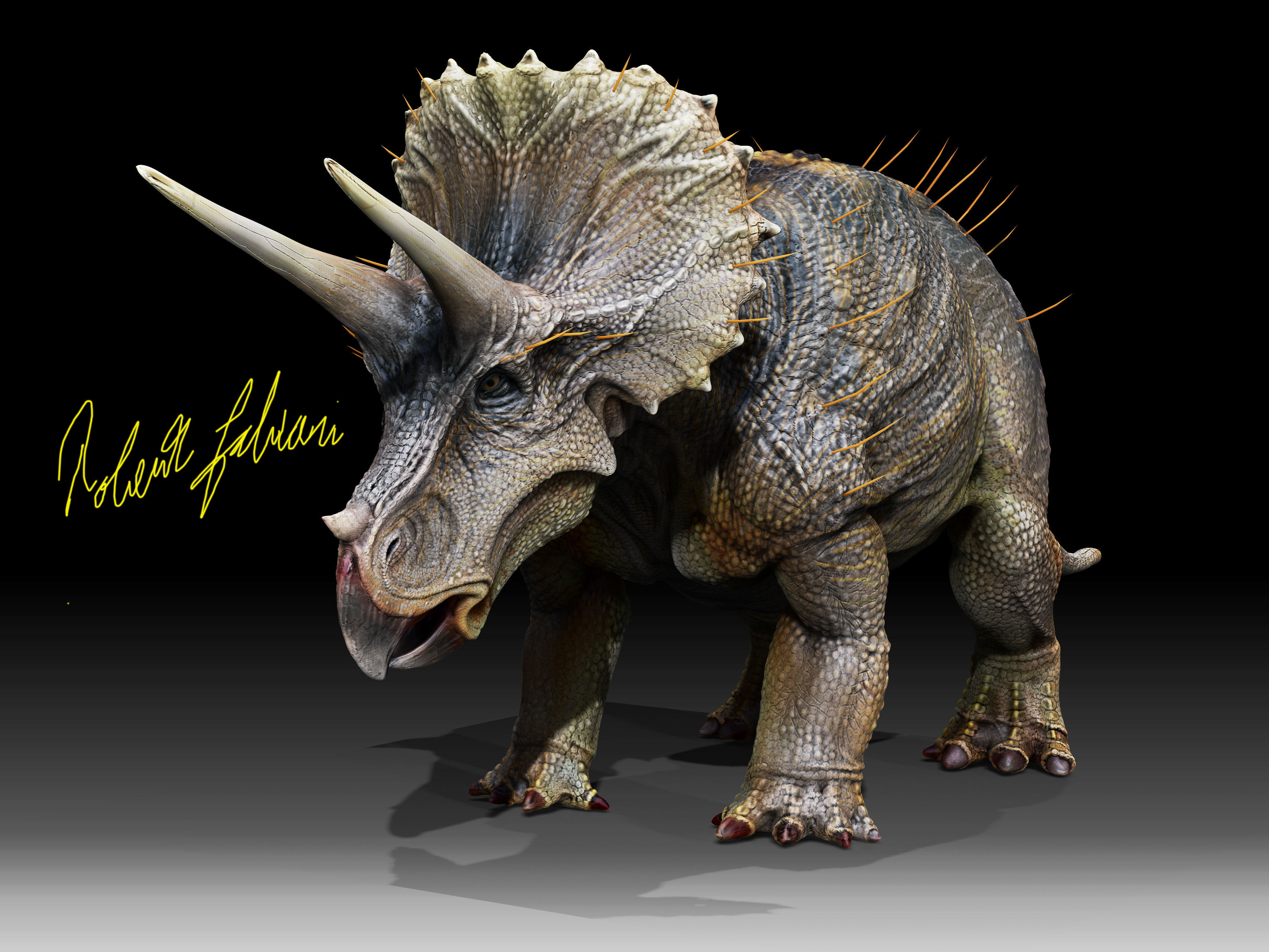 Papo Baby Triceratops Dinosaur Model Reviewed - YouTube |Triceratops Dinosaur