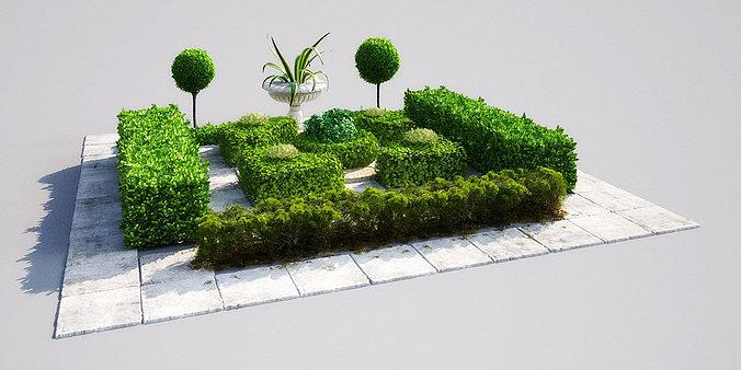 Garden 16 Am148 3d Model