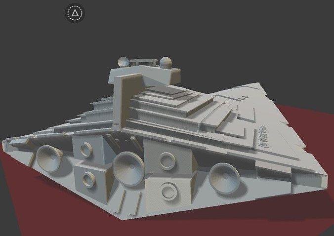 Star Wars Allegiance Star Destroyer 3d Model 3d Printable