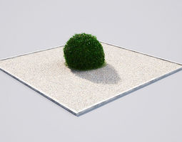 3D model hedge 19-04 AM148