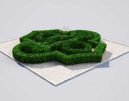 3D model hedge 19-02 AM148