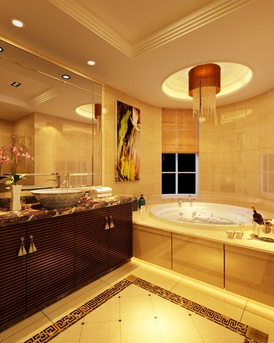 Luxury bathroom 3d cgtrader for 3d bathroom models
