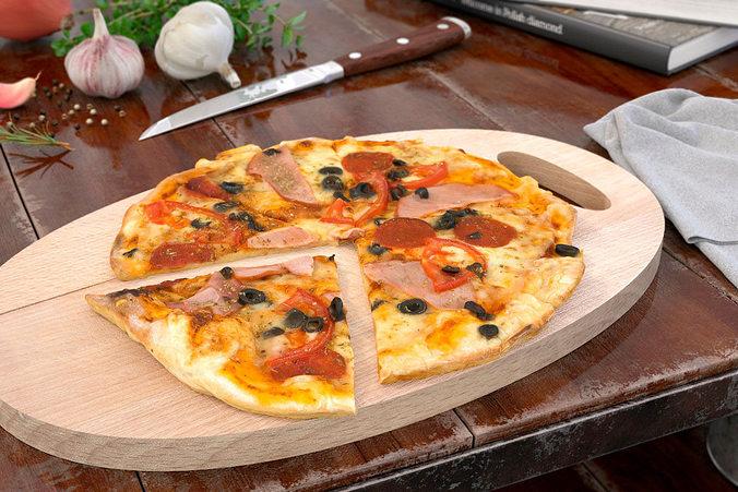 pizza 36 am150 3d model max obj fbx c4d mtl 1