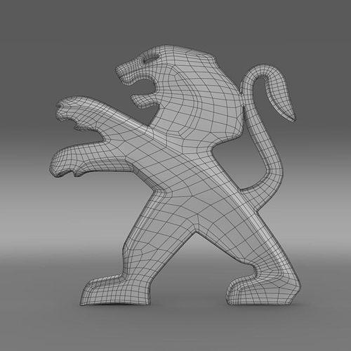 Zagato Logo 3D Model MAX OBJ 3DS FBX C4D LWO LW LWS