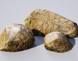 3d model stones 15-20 am148