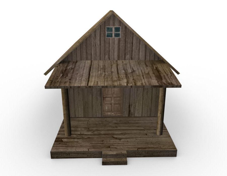 Free house model in maya