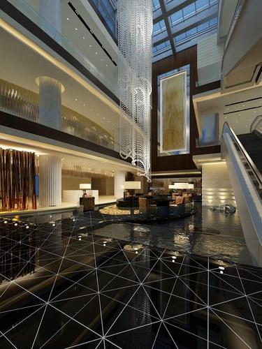 Contemporary Foyer Jobs : D model modern foyer cgtrader