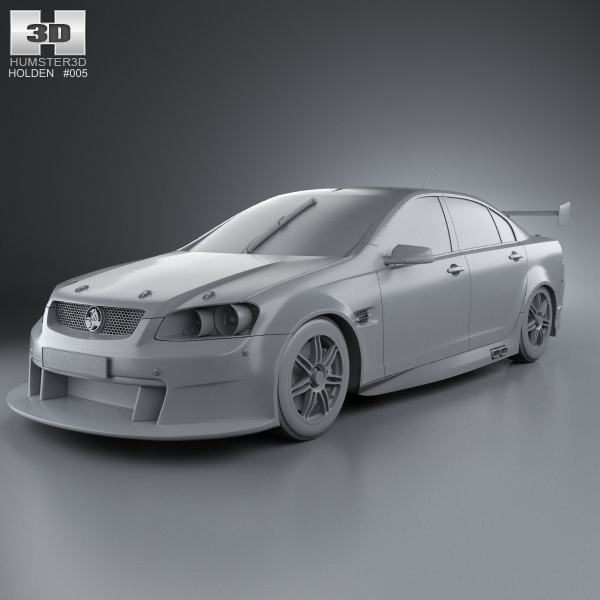 Holden Commodore V8 Supercar 2012 3D | CGTrader