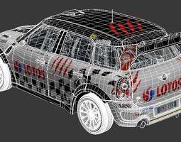 3D model mini wrc