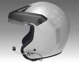 3D model Rally Car Helmet
