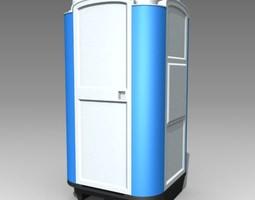 WC Portable 3D model