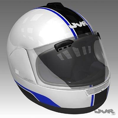 motorcycle helmet textured 3d model max obj 3ds fbx mtl tga 1