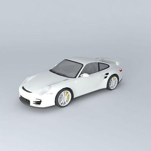 porsche 911 gt2 type 997 2009 free 3d model max obj 3ds fbx stl dae cgtrade. Black Bedroom Furniture Sets. Home Design Ideas