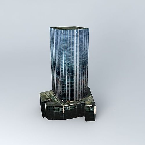 99 Bishopsgate London 3d Model Max Obj Mtl 3ds Fbx Stl Dae 1