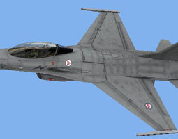 3D asset F-16AM RNoAF Norwegian air force