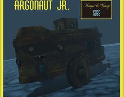 argonaut jr 3d model