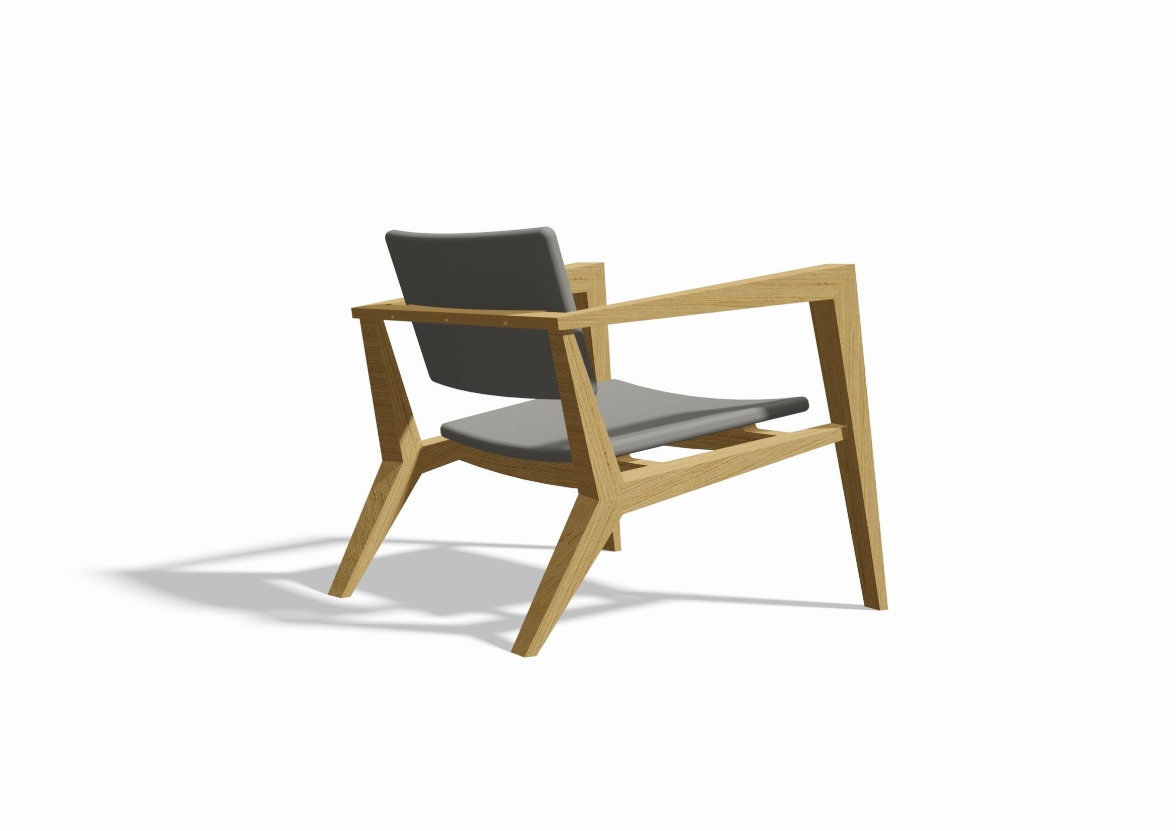Conica easy chair by Skandiform 3D model