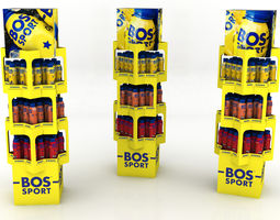 3D asset Bos free standing unit 2