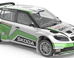 Scoda fabia s2000 3D model