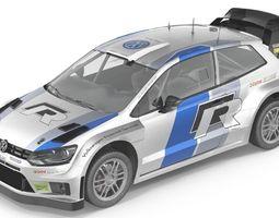 VW polo r 3D Model
