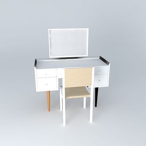 Dressing Table Chair Model