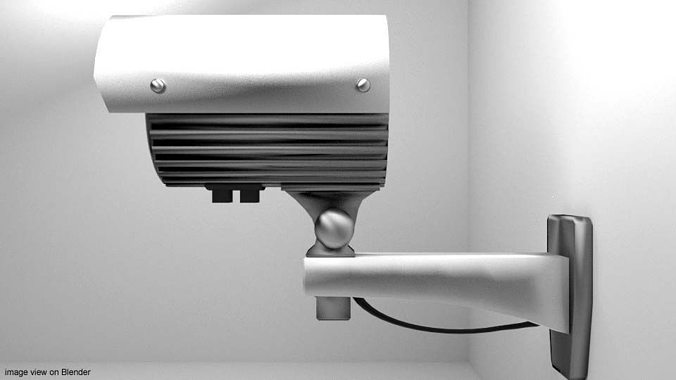camera-cctv-type-1-3d-model-obj-3ds-lwo-