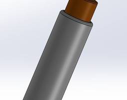 aaa-2-aa-battery-adapter 3d print model