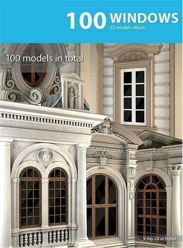 window collection 3d model max obj mtl fbx pdf 1
