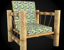 3D model building Garden Furniture