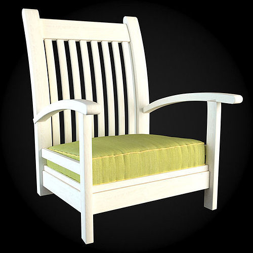 garden furniture 3d model max obj fbx 2