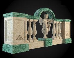 building Baluster 3D model