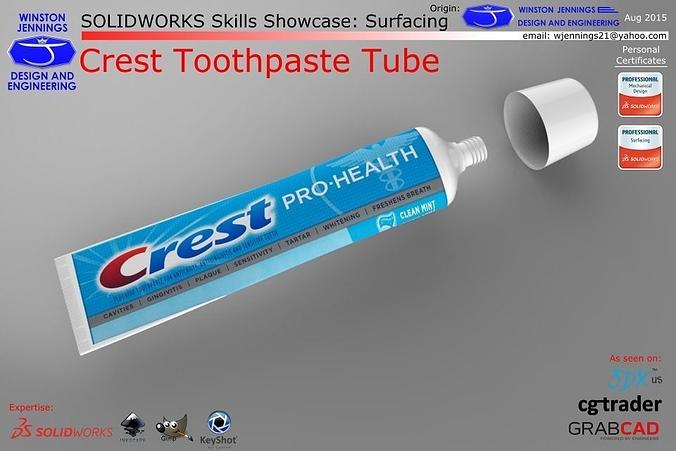 SW Skills - Crest Toothpaste Tube